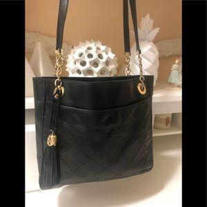 Vincenzo Italian vintage leather bag
